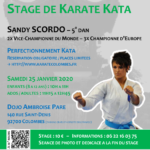 Stage avec Sandy Scordo le 25-01-2020
