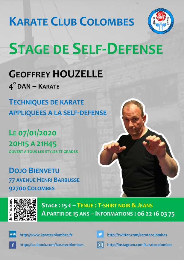 Stage Self-Défense Geoffrey Houzelle
