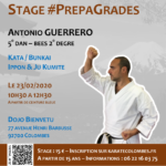 Stage karaté #PrepaGrades le 23-02-2020