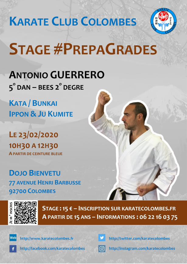 Stage Karate #PrepaGrades 2020 02 23