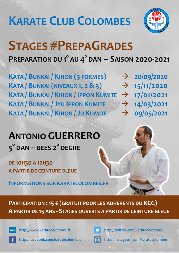 Programme Stages #PrepaGrades Saison 2020-2021