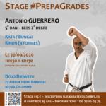 Stage karaté #PrepaGrades le 20-09-2020