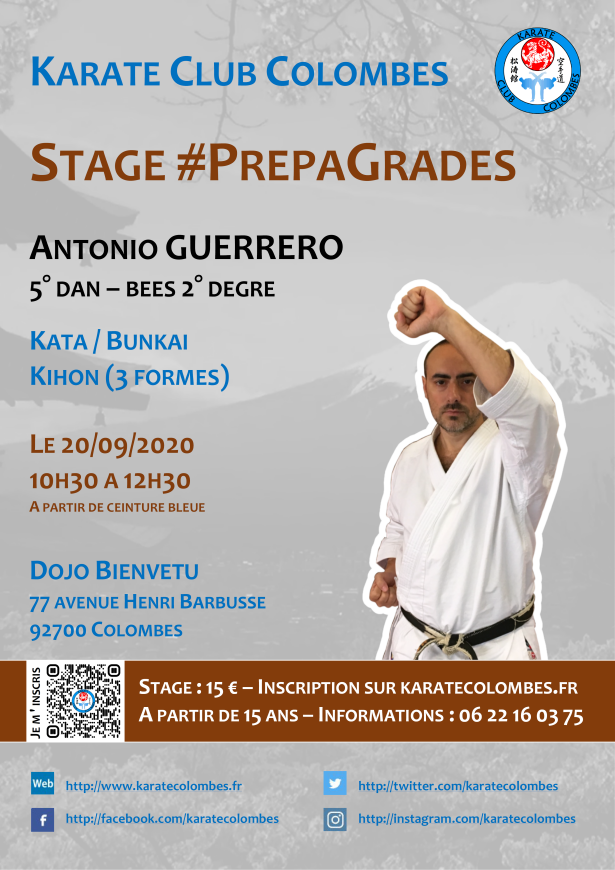 Stage Karate #PrepaGrades 2020 09 20