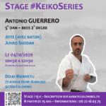 Stage karaté #KeikoSeries le 04-10-2020