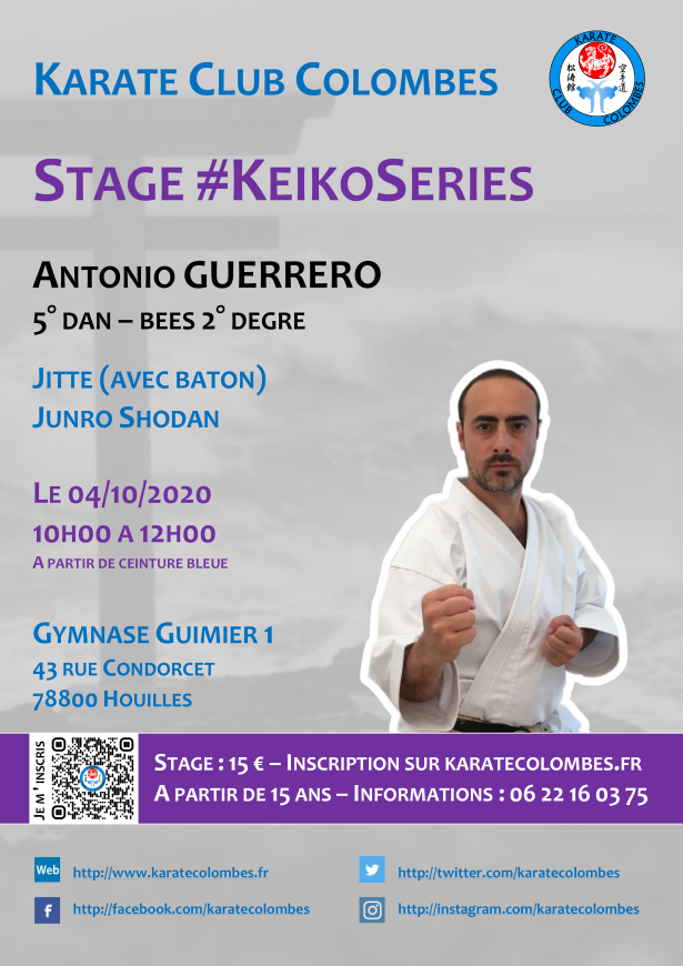 Stage Karate #KeikoSeries 2020 10 04 v4