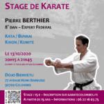 Stage avec Pierre Berthier le 13-10-2020