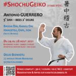 Stage karaté Shochu Geiko août 2021
