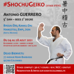 Stage karaté #ShochuGeiko août 2021