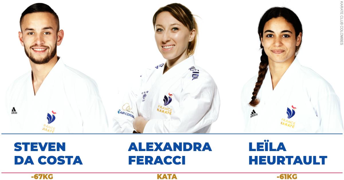 Steven Da Costa - Alexandra Ferracci - Leila Heurtault - Jeux Olympiques Tokyo 2020
