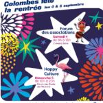 Forum des associations à Colombes 04-09-2021
