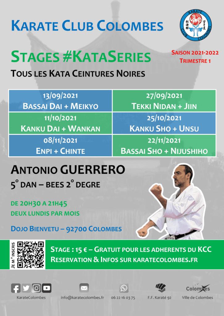 Programme Stages #KataSeries Saison 2021-2022 Trimestre 1