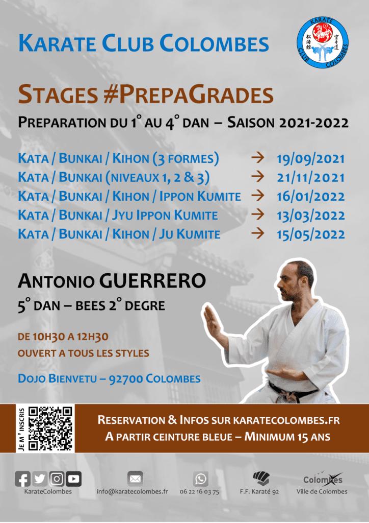 Programme Stages #PrepaGrades Saison 2021-2022