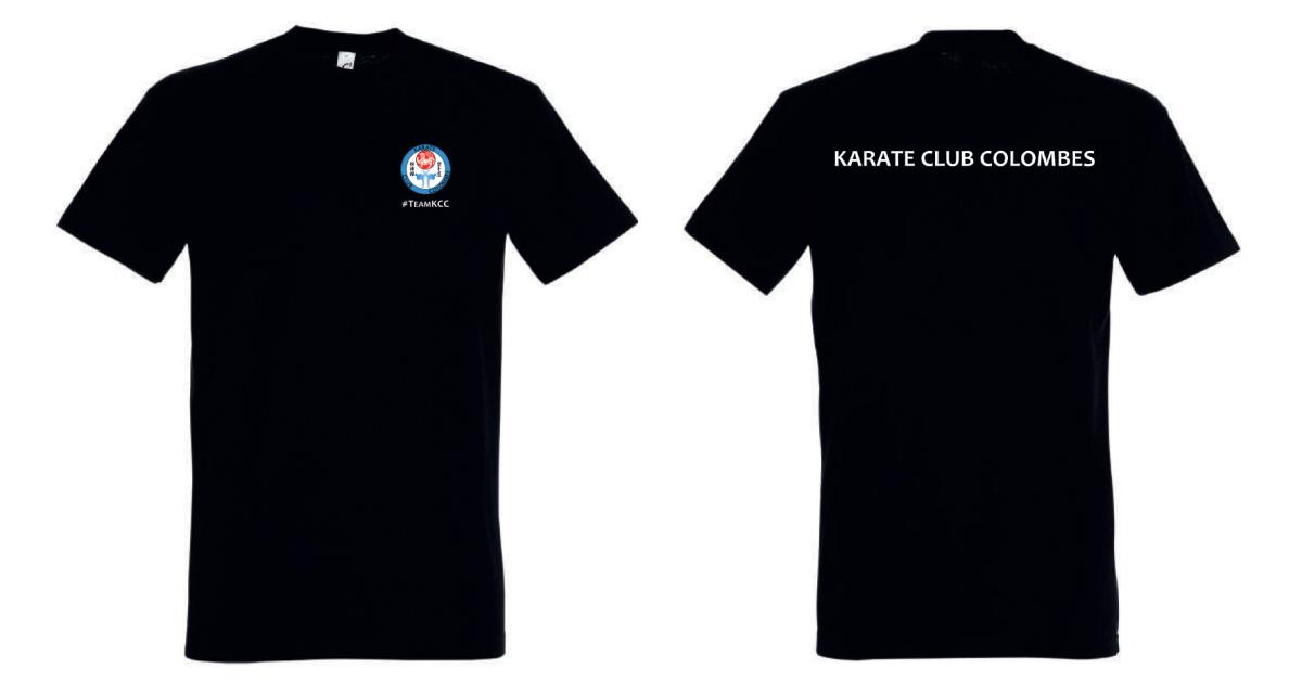 Tshirt KCC Noir 2021-2022