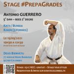 Stage karaté #PrepaGrades le 19-09-2021