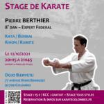 Stage avec Pierre Berthier le 12-10-2021