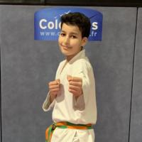 [Karatéka du mois] Adan M, 12 ans