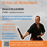 Stage avec Denis Collignon le 06-12-2019