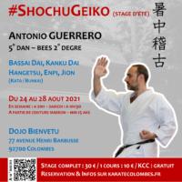 Stage Karate #ShochuGeiko 2021 08 24 v3